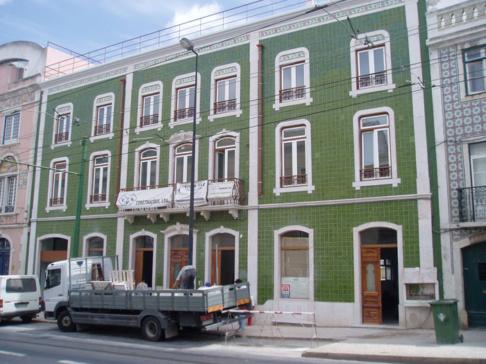 Carlos & Lacerda - Prédio R. da Junqueira Lisboa